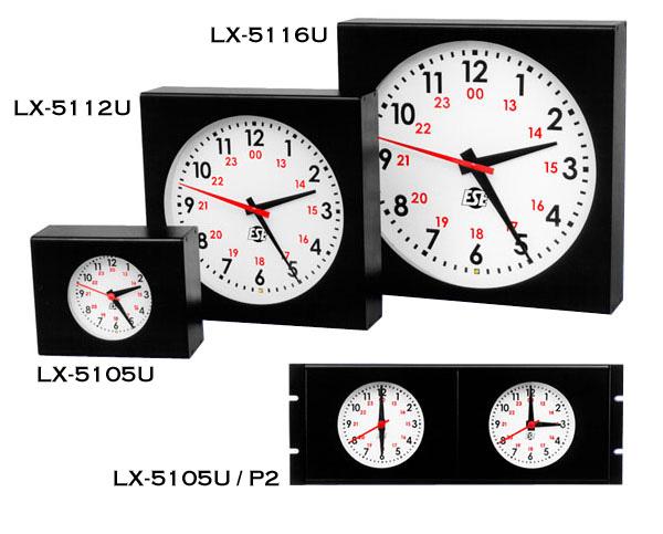 Lx 5112u Ntp6 C 12 Quot Self Setting Analog Ntp Time Display